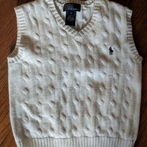 Really Lauren boys sweater vest